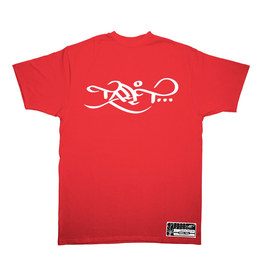 TALL T PRODUCTIONS TALL T PRODUCTION CLASSIC LOGO RED/WHITE