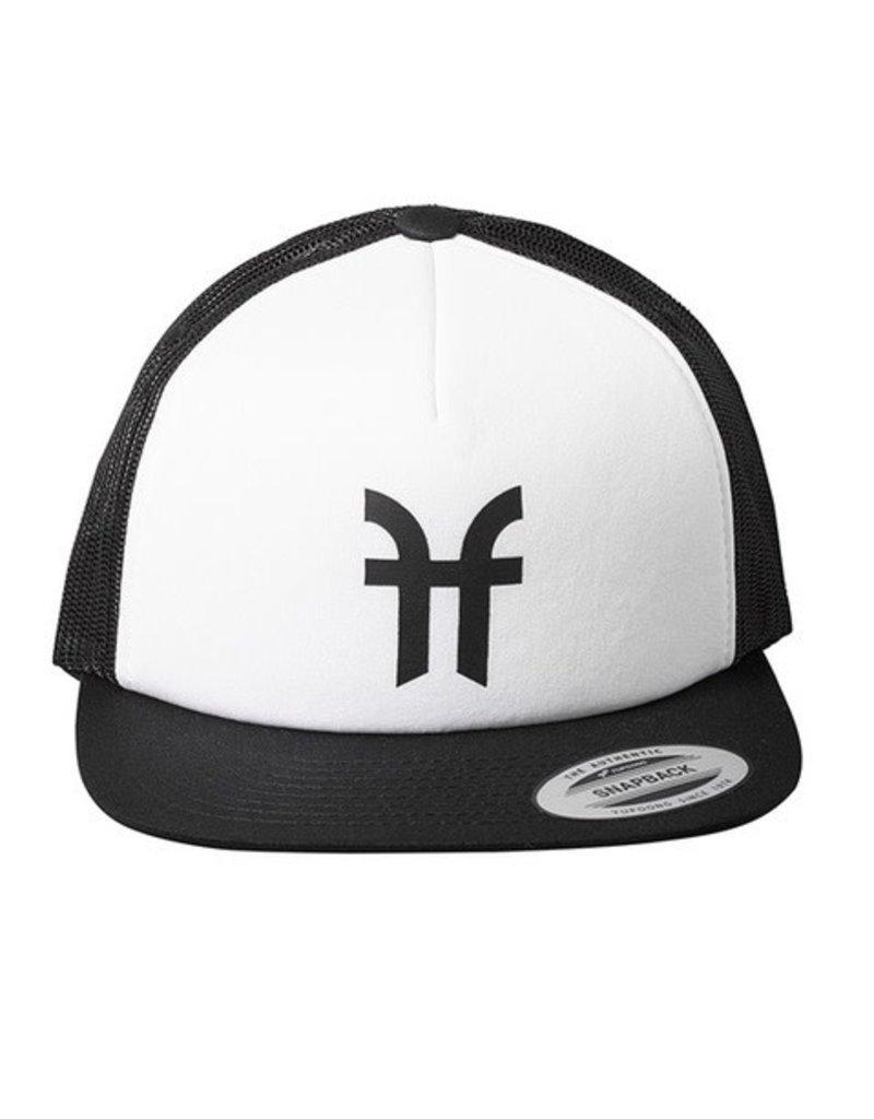 FACTION FACTION HAT LOGO TRUCKER CAP BLACK OS