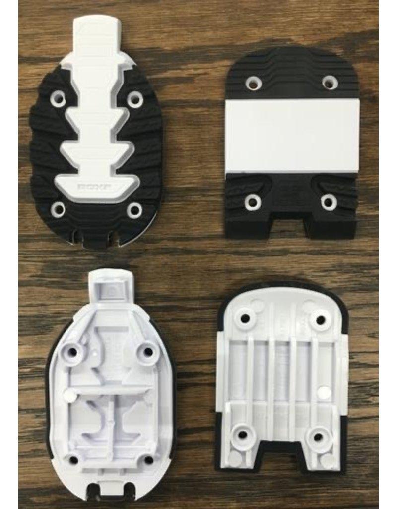 ROXA ROXA REPLACEMENT TOE/HEEL R3 ALPINE SOLES BLACK/WHITE