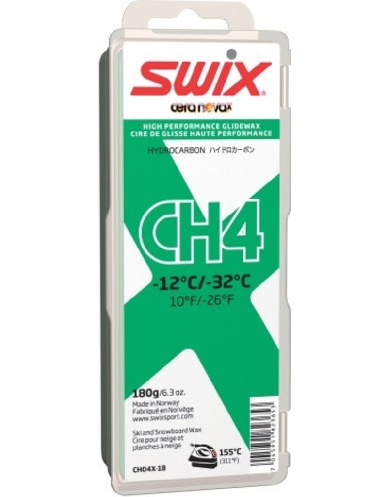 SWIX SWIX WAX CH4 GREEN -12°C/-32°C 180G