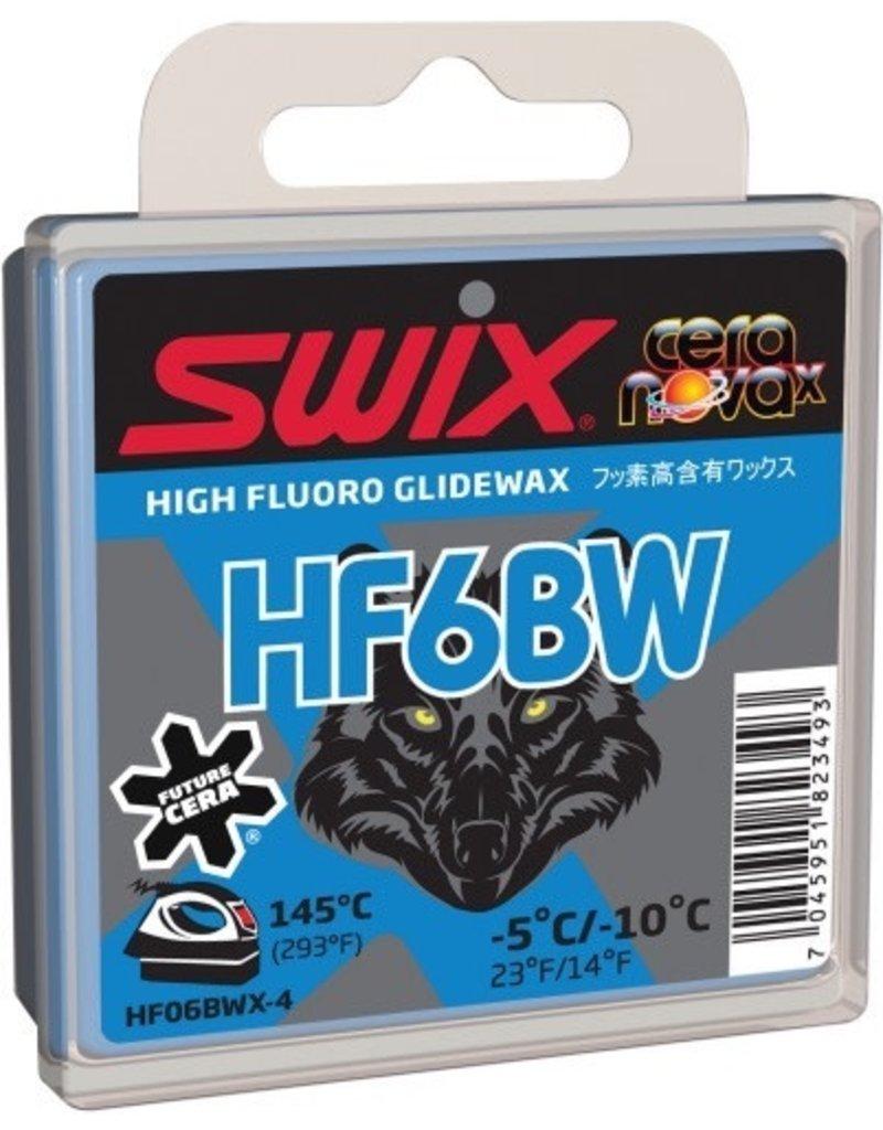 SWIX SWIX WAX HF6BW BLACK WOLF -5°C/-10°C 40G