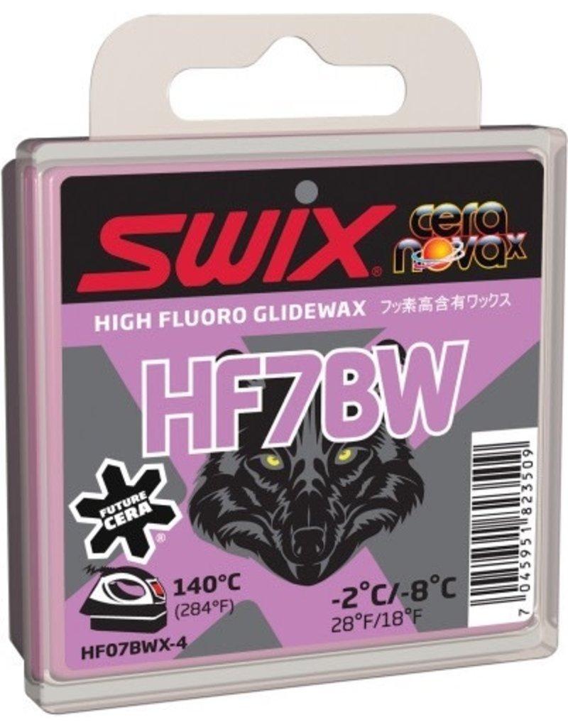 SWIX SWIX WAX HF7BW BLACK WOLF -2°C/-8°C 40G