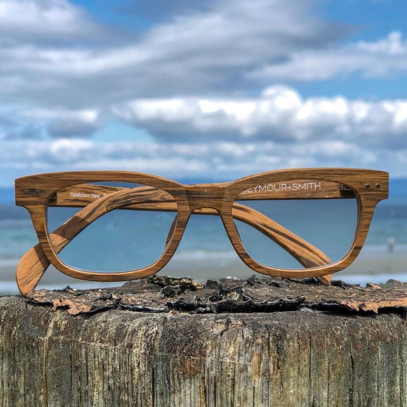 Seymour + Smith Yaletown Yew Reading Glasses