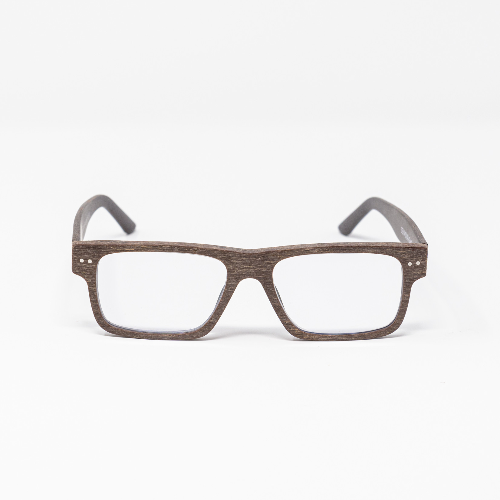 Seymour + Smith Downtown Brown Reading Glasses