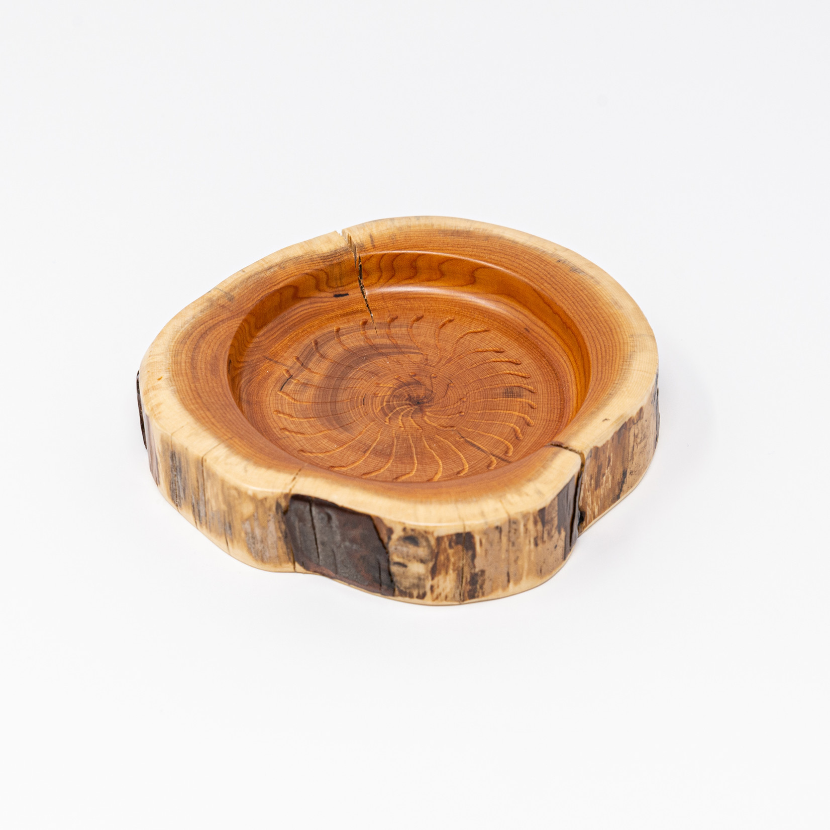 Andre St. Cyr Yew Wood Coaster