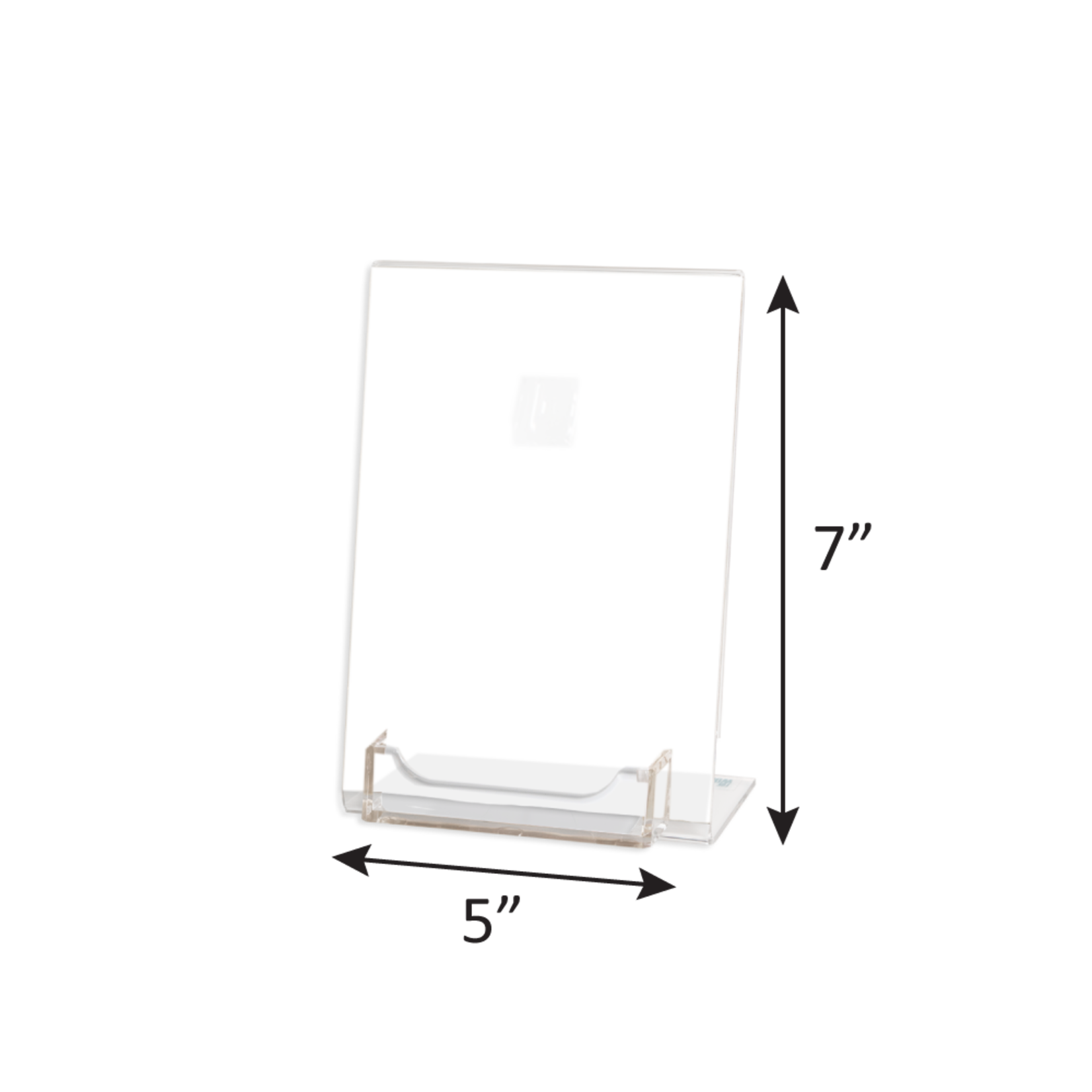 5X7 Acrylic Gift Card Display Stand