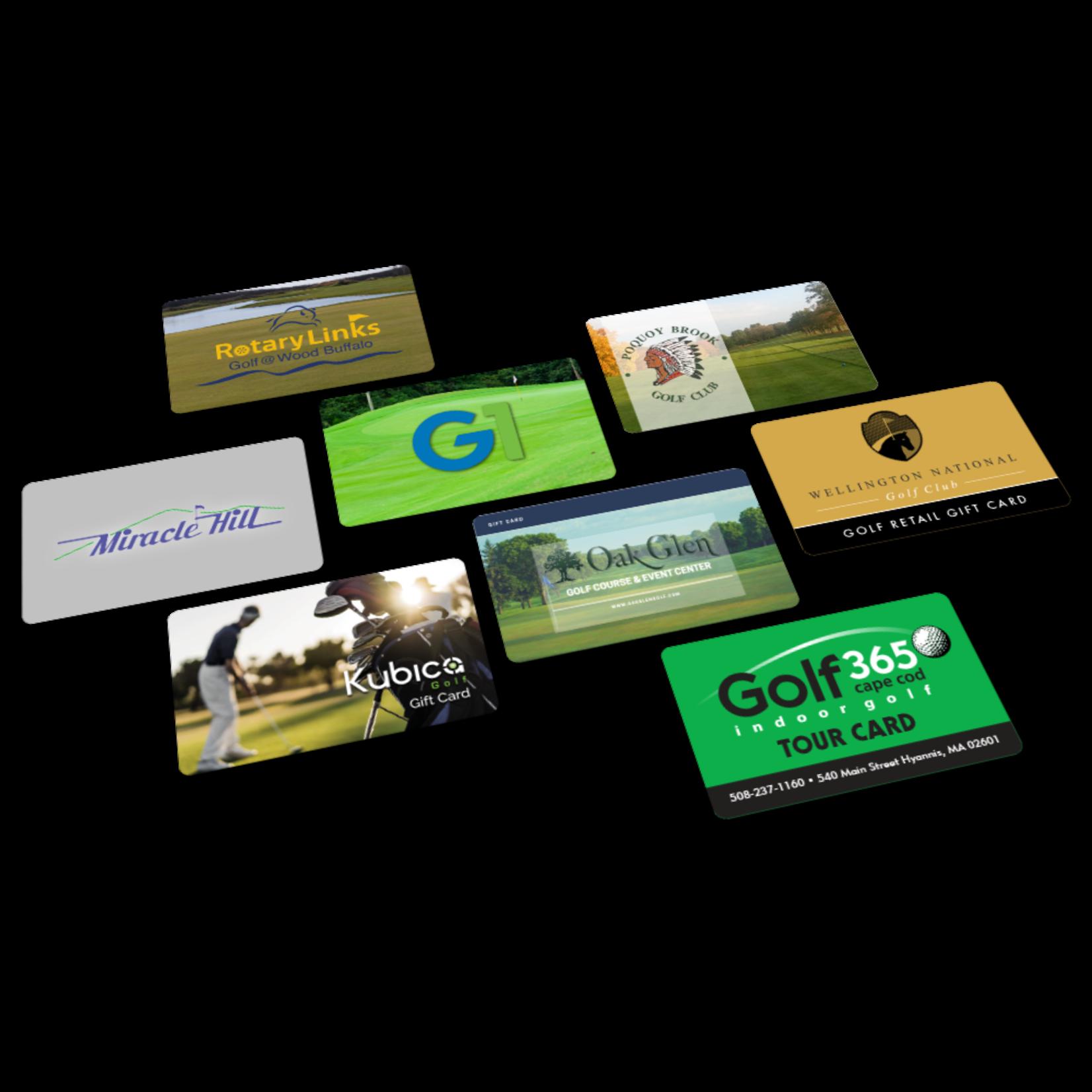 Sur Mesure Cadeau Carte - Lightspeed Golf