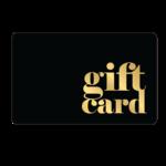 Gift Cards - Black Gold