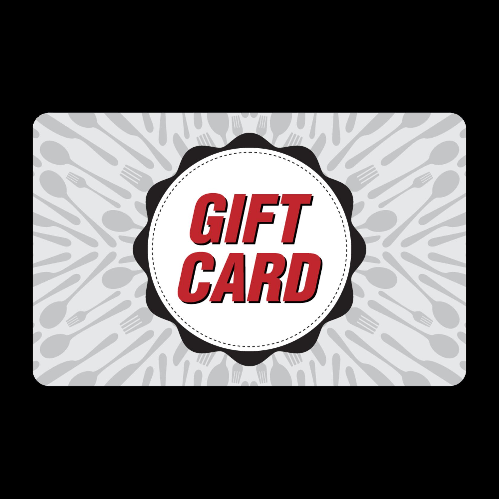 Gift Cards - Utensils