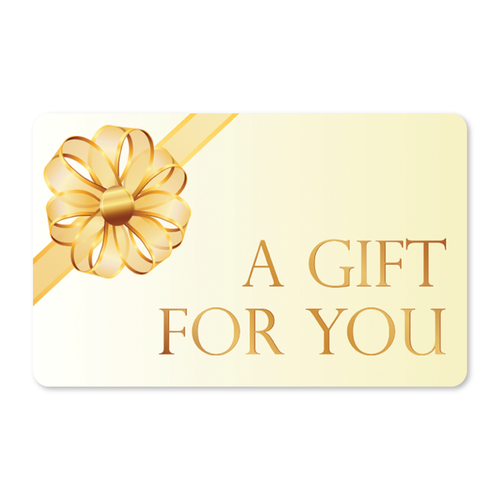 Gift Cards - Gold Bow