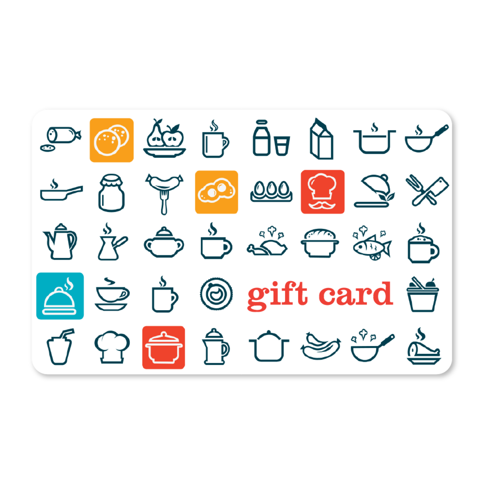 Gift Cards - Food