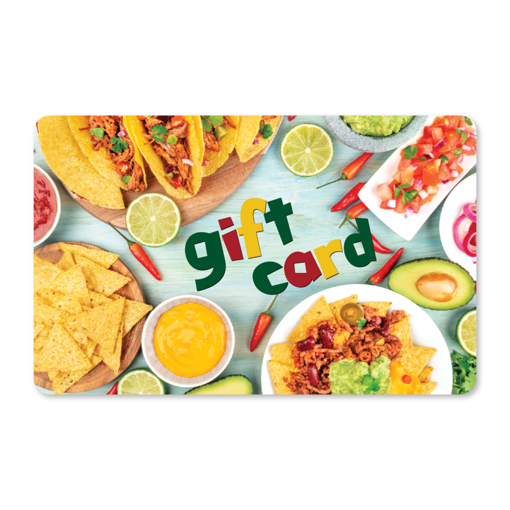 Gift Cards - Mexican Dishes