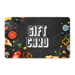 Gift Cards - Pizza Ingredients