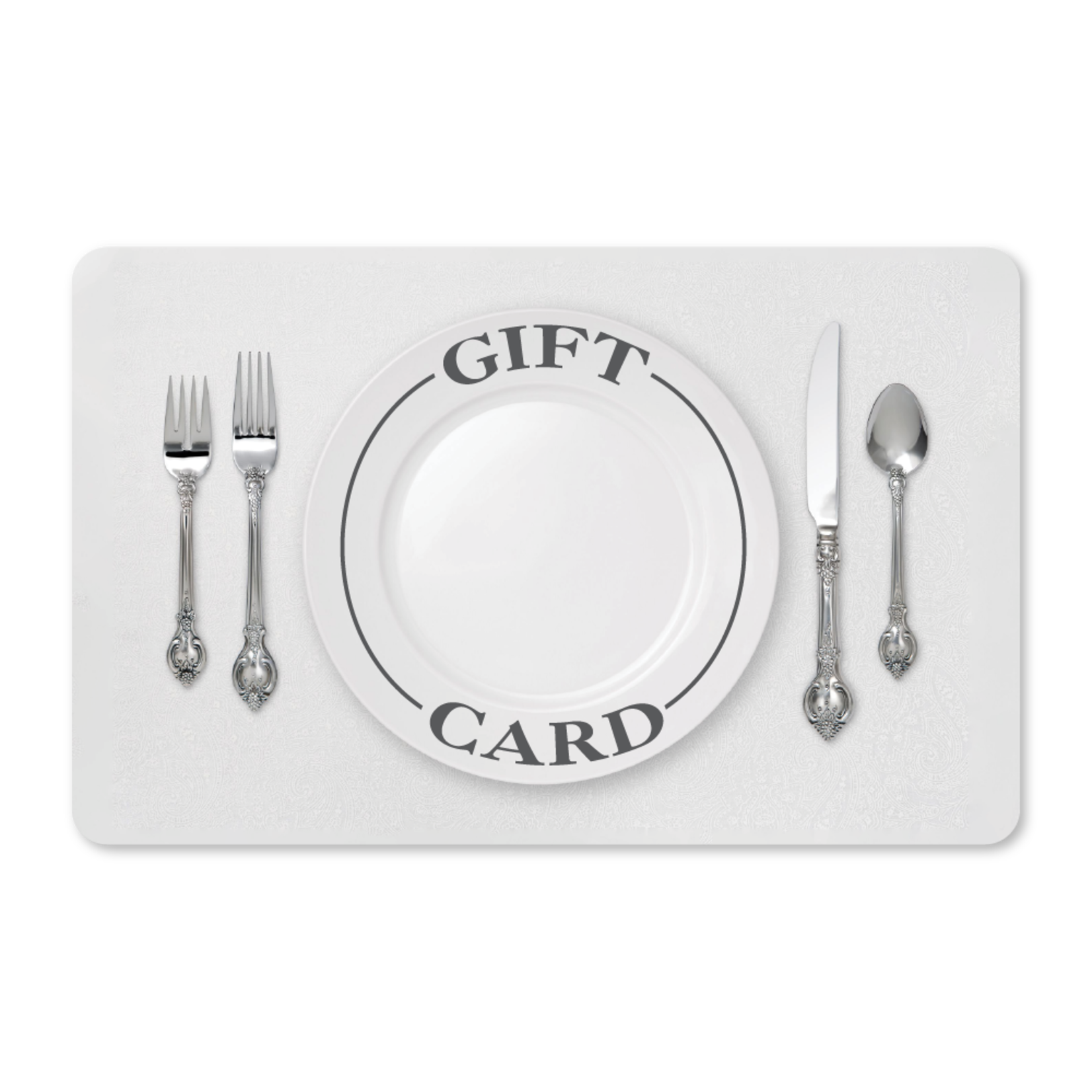 Gift Cards - Place Setting
