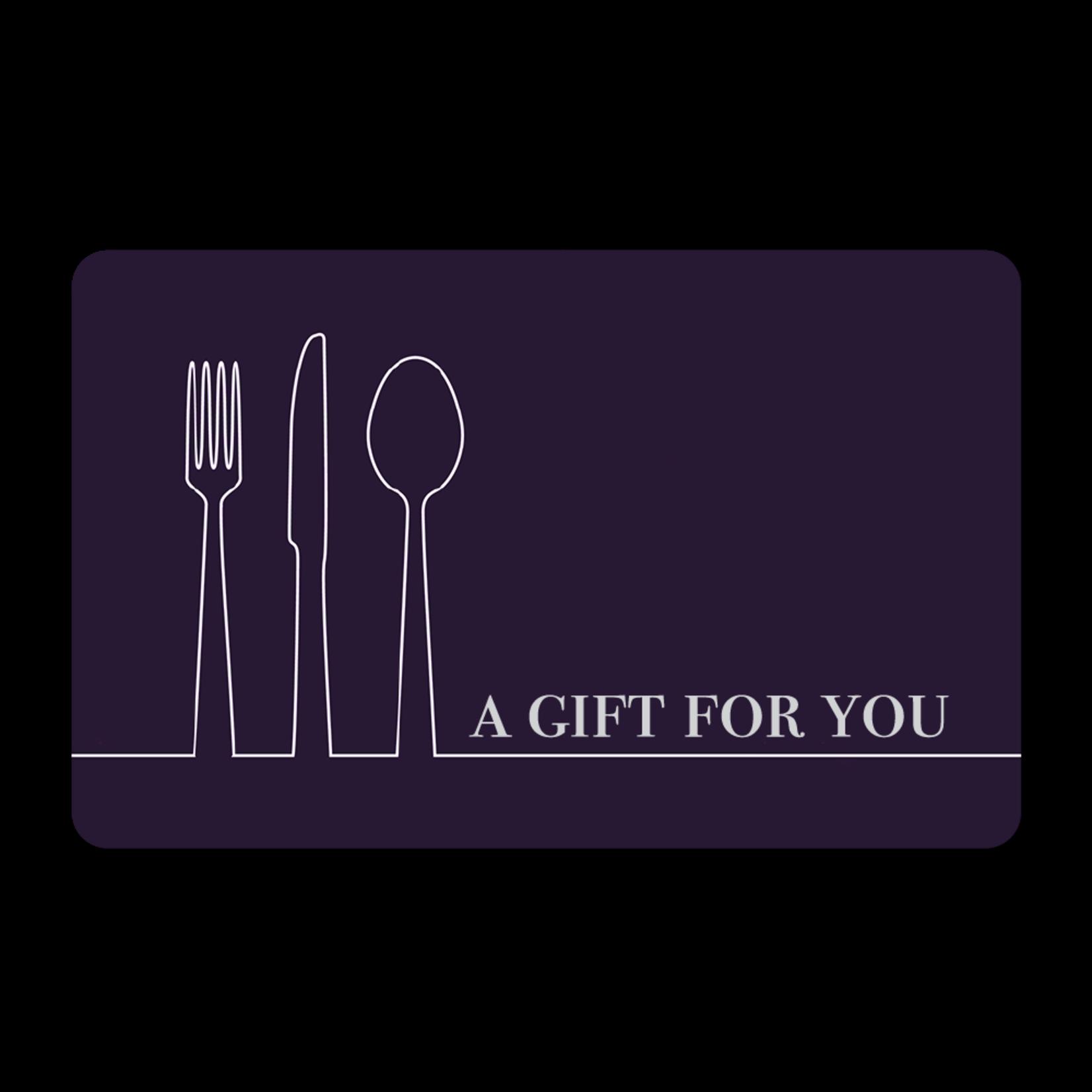 Gift Cards - Purple Utensils