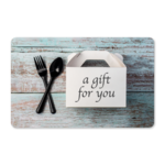 Gift Cards - Take Out Box