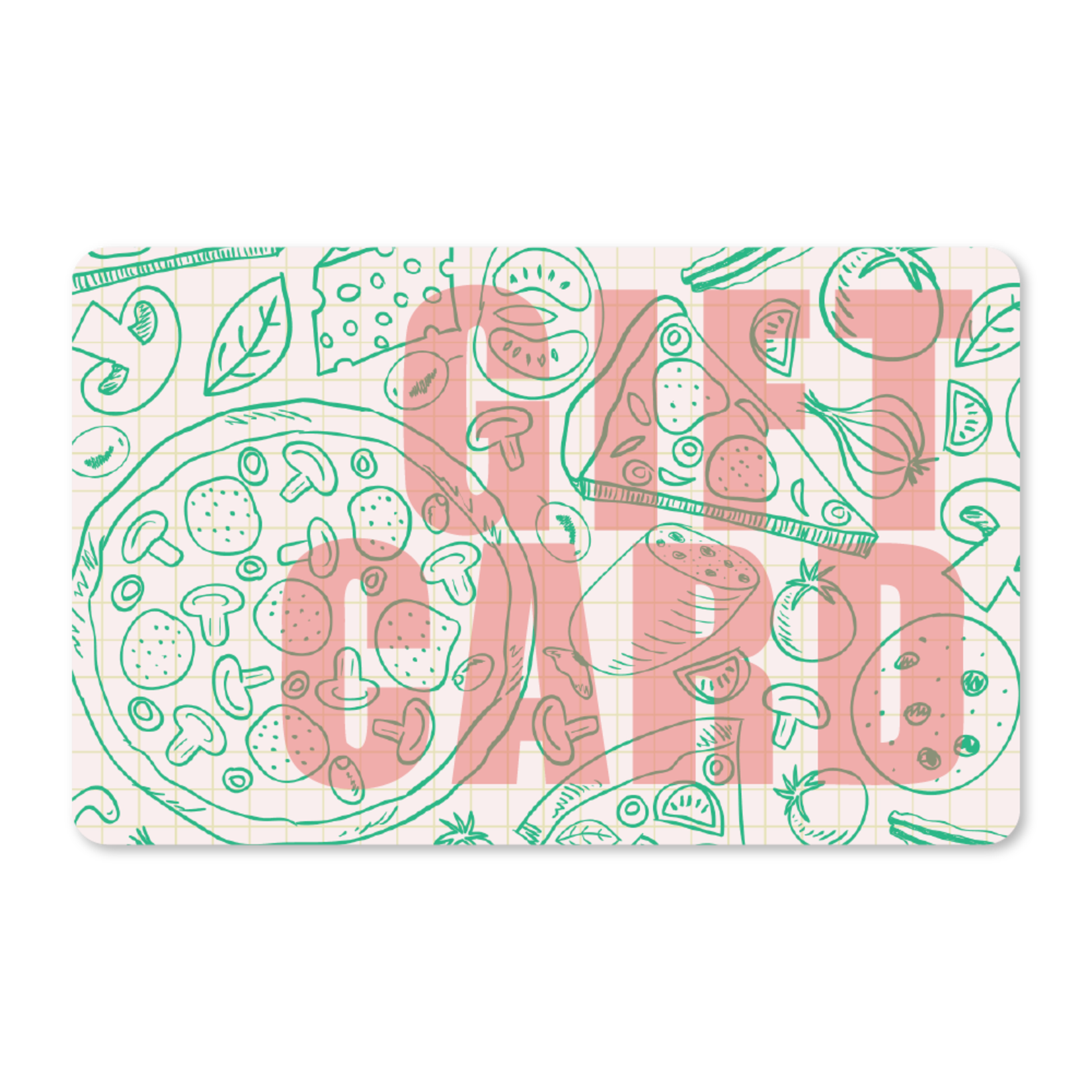 Gift Cards - Pizza Art