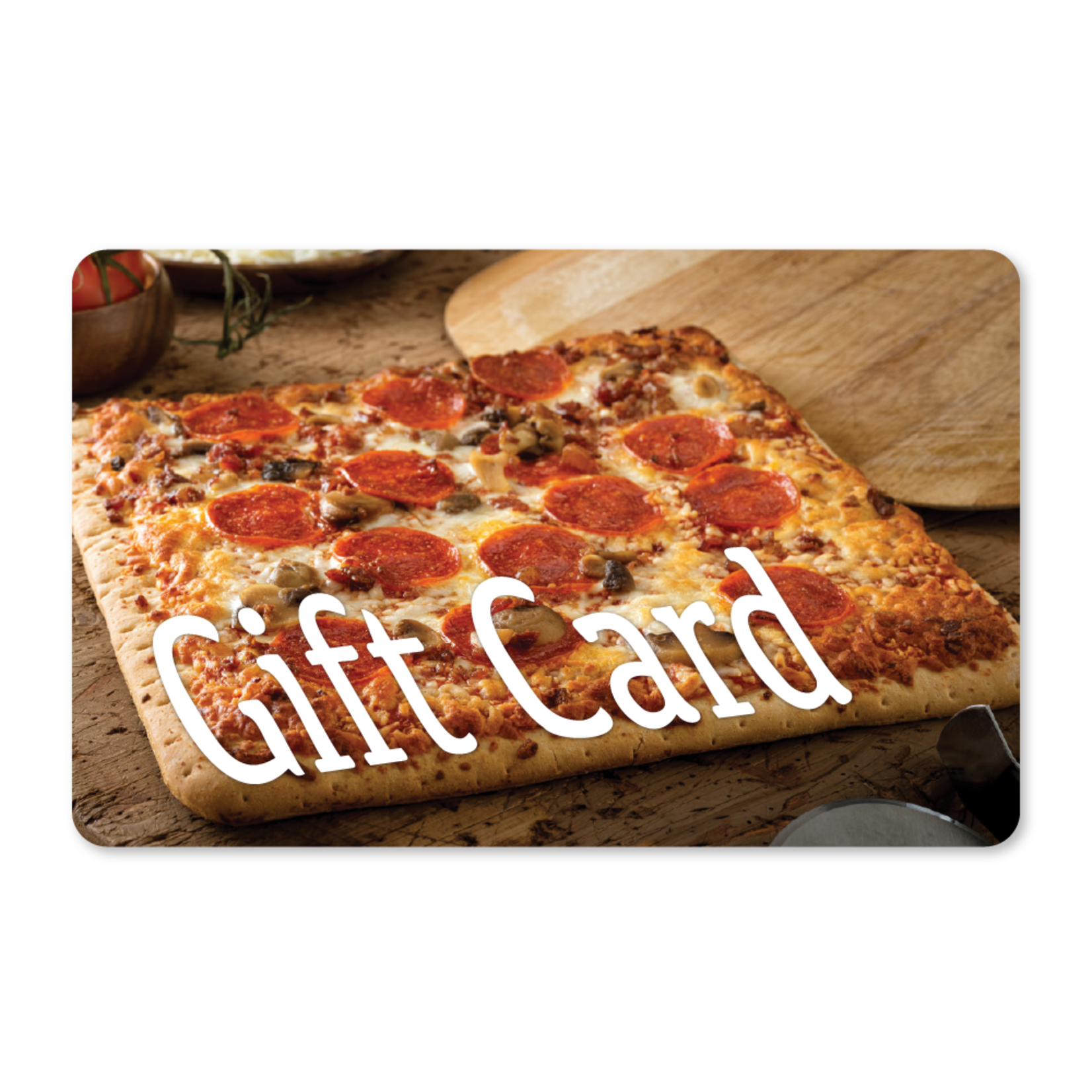 Gift Cards - Rectangle Pizza