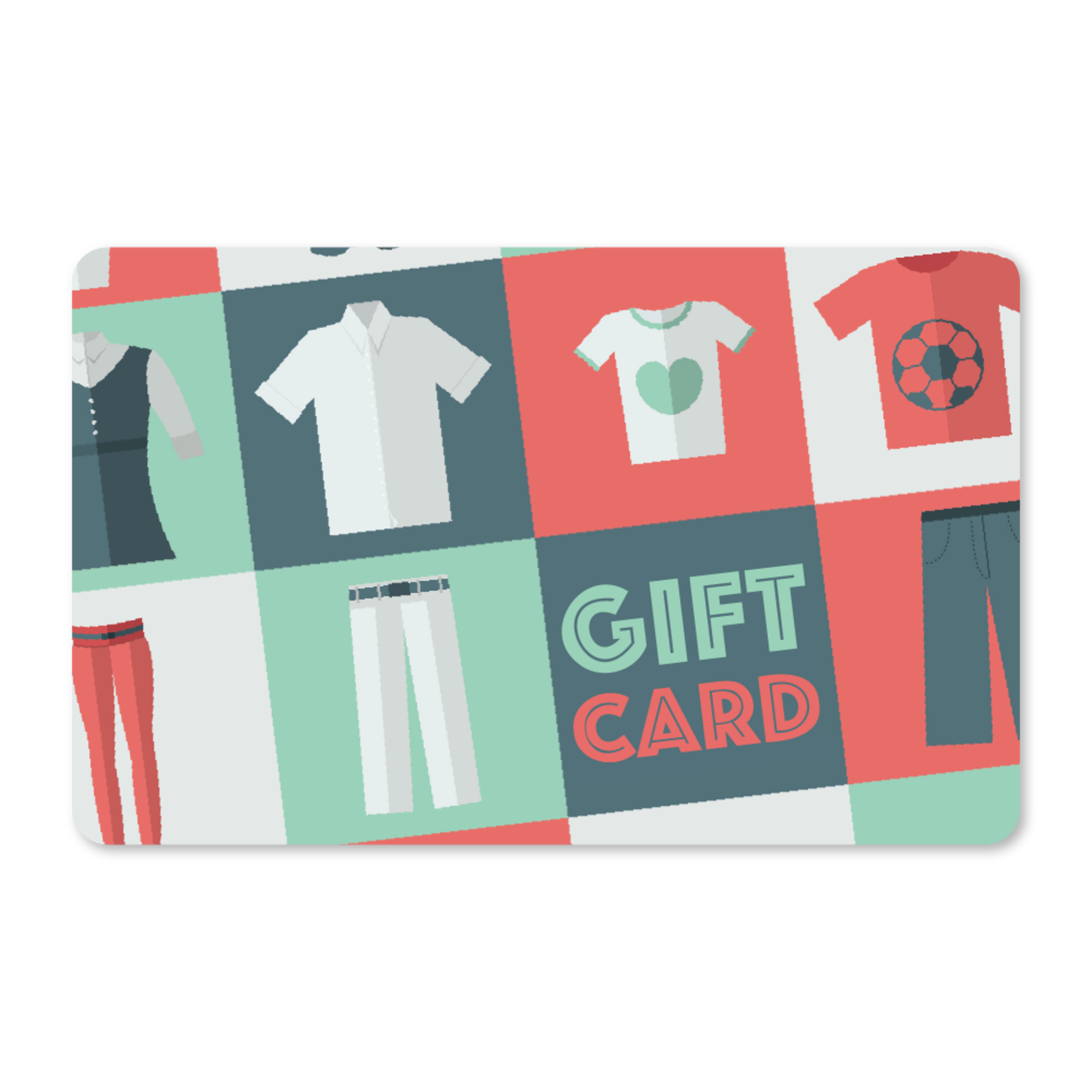 Gift Cards - Apparel