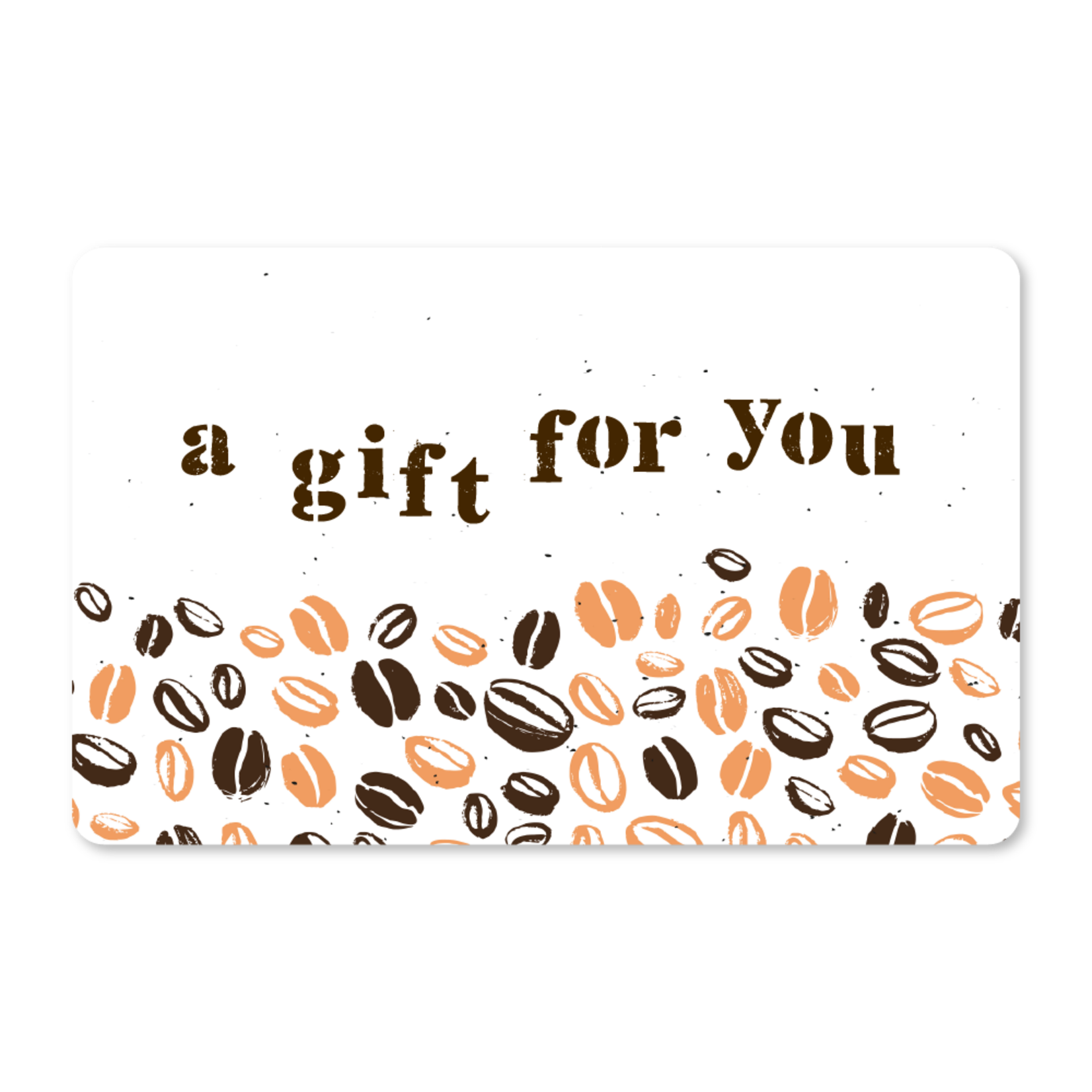 Gift Cards - Coffee Beans