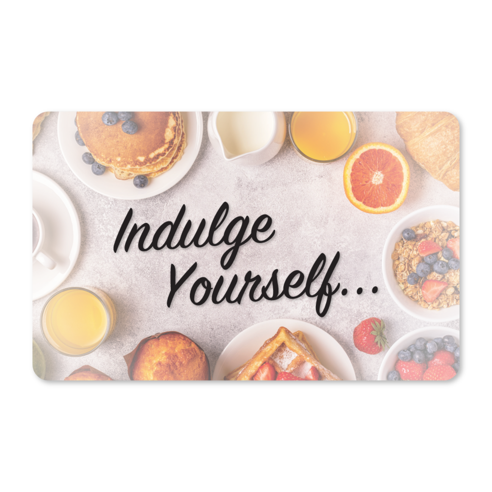 Gift Cards - Indulge