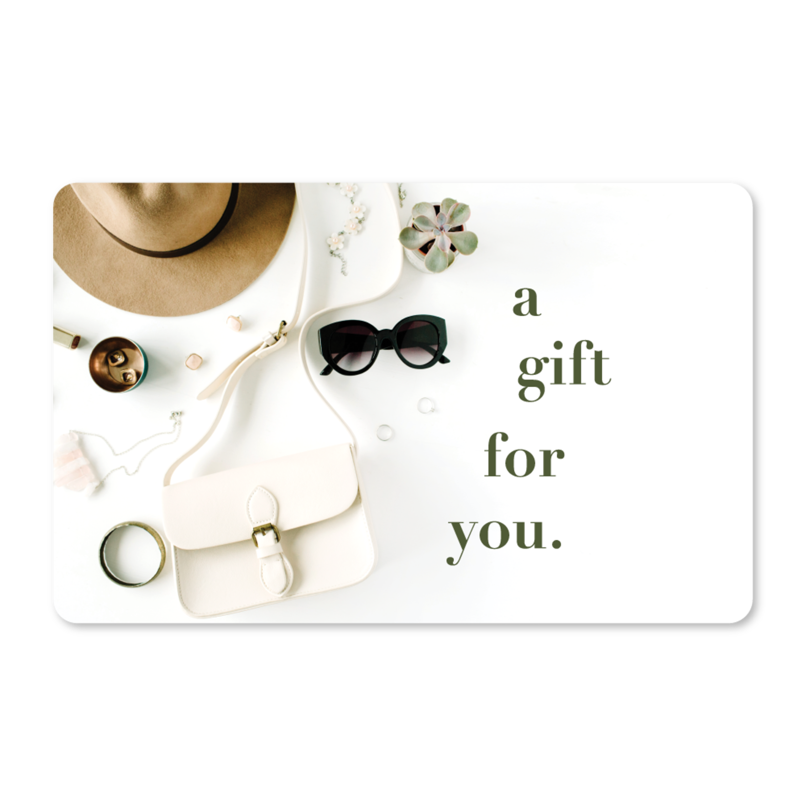 Gift Cards - Accessories