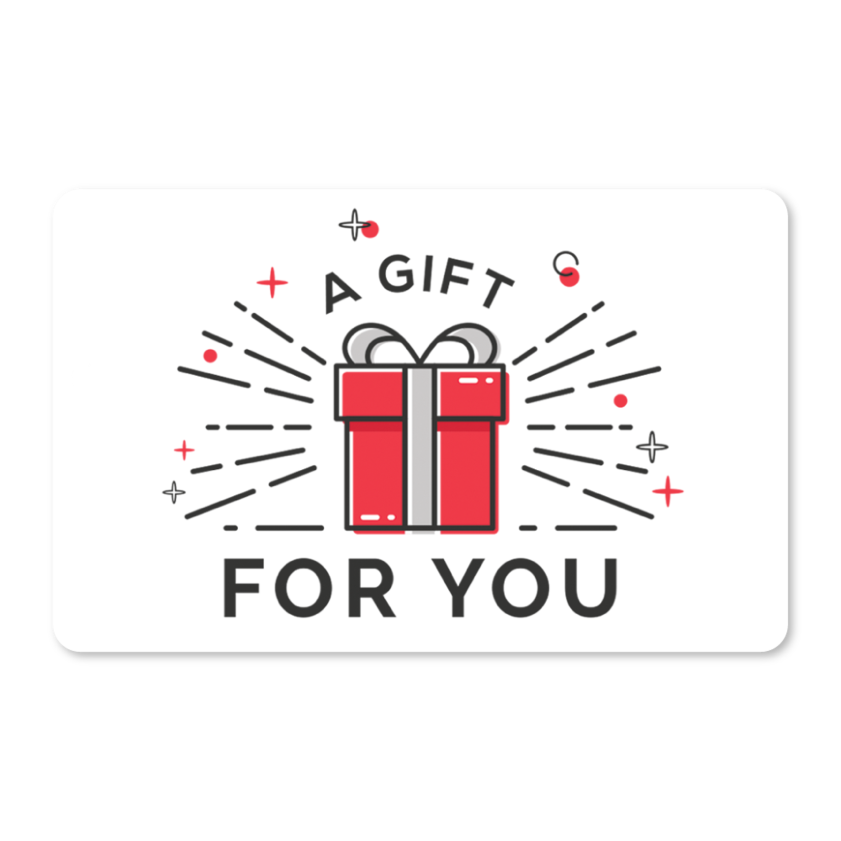 Gift Cards - Red Gift