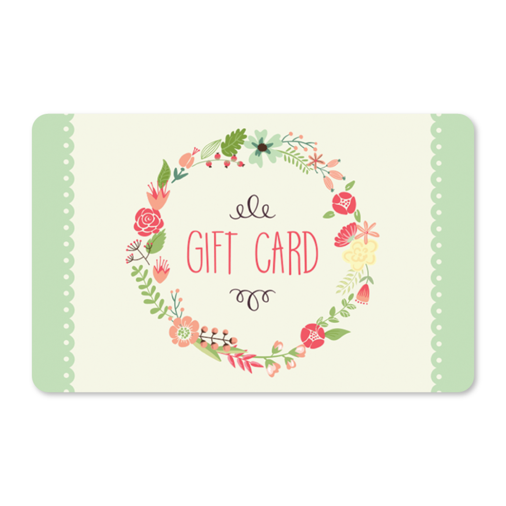 Gift Cards - Floral Wreath