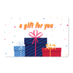 Gift Cards - Confetti and Gifts