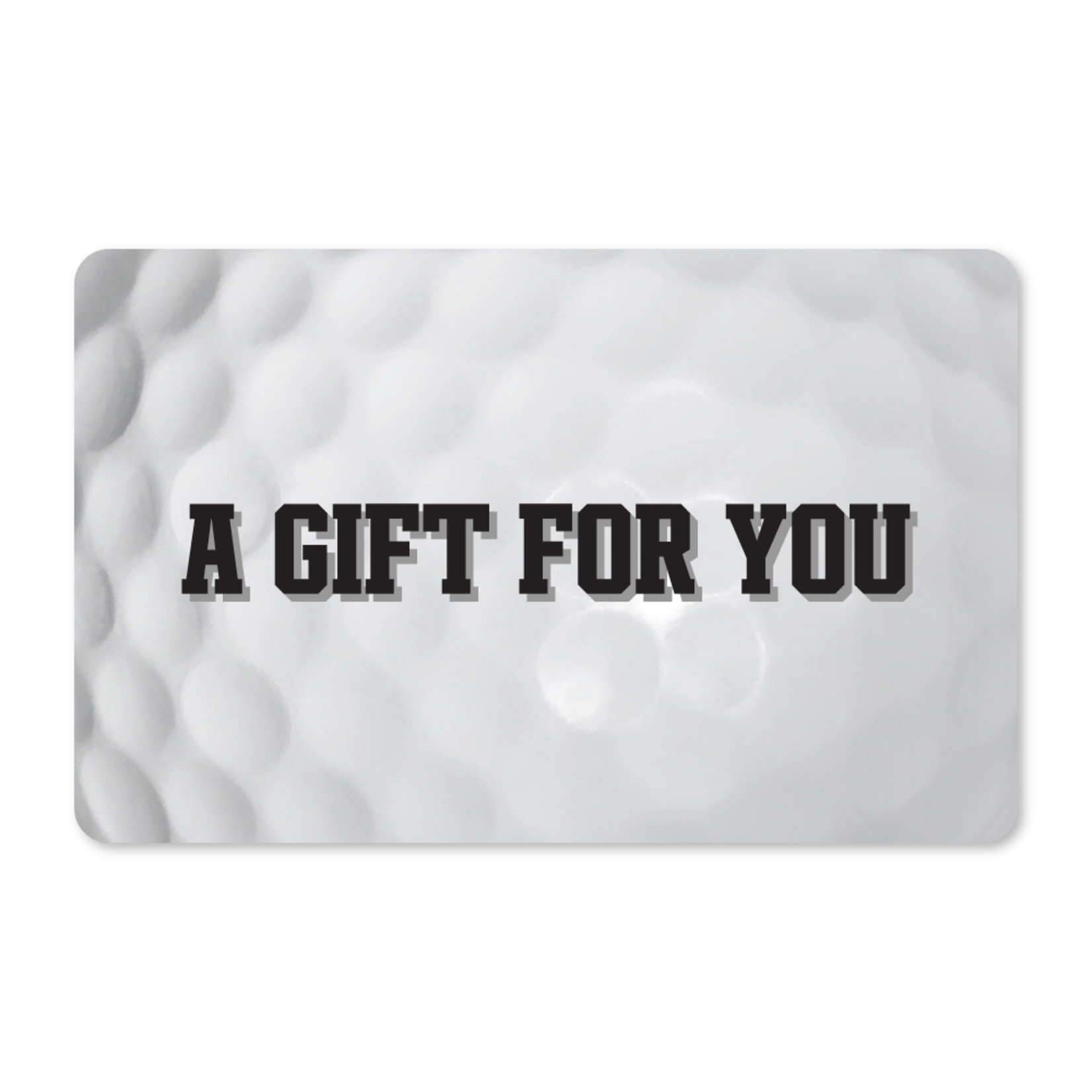 Gift Cards -  Golf Ball Dimples