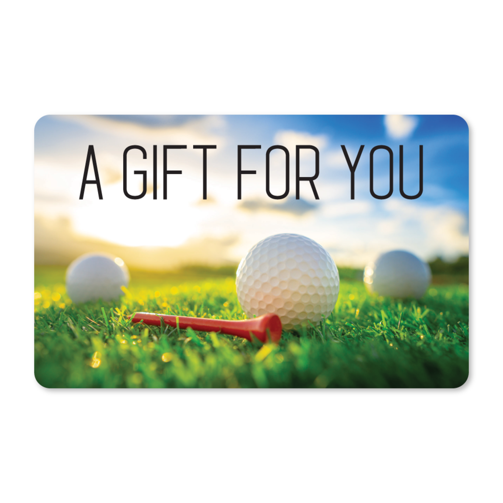 Gift Cards - Morning Golf