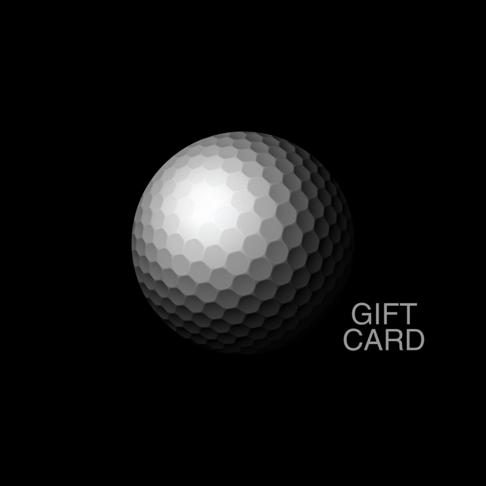 Gift Cards - Golf Ball