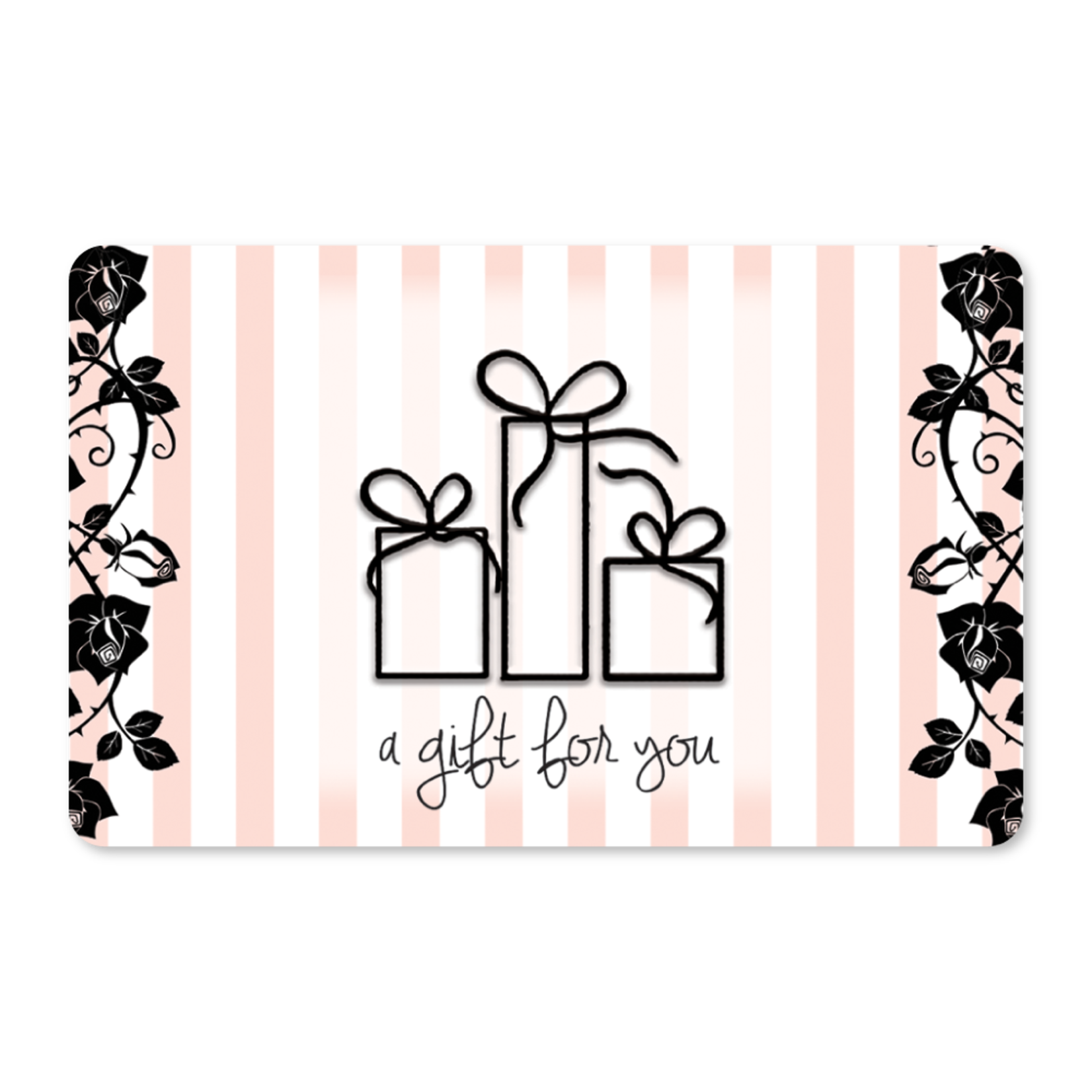 Gift Cards - Pink Stripes