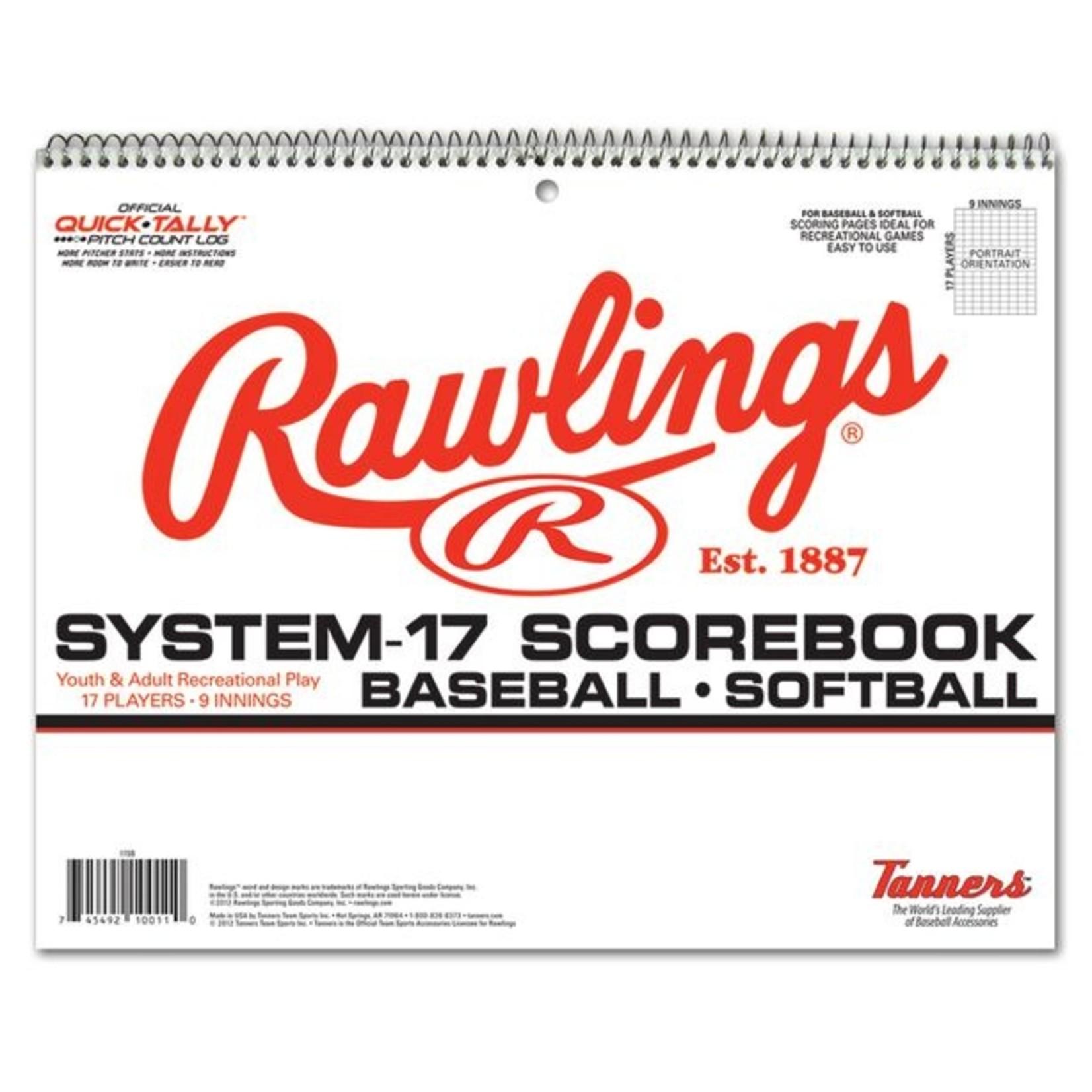 RAWLINGS Rawlings Scorebook