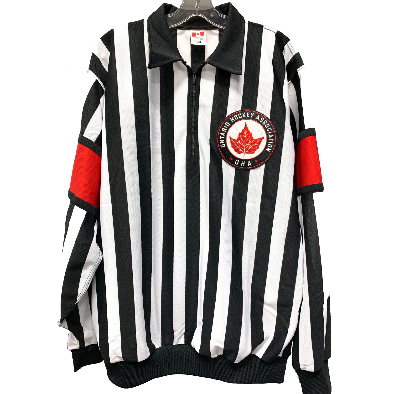 CCM CCM Pro Ref Jersey - Bands OHA Crested