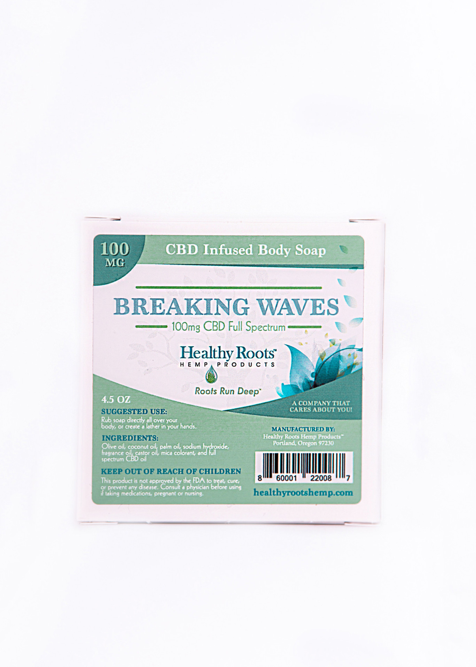 Healthy Roots Hemp Products Healthy Roots Breaking Waves Soap