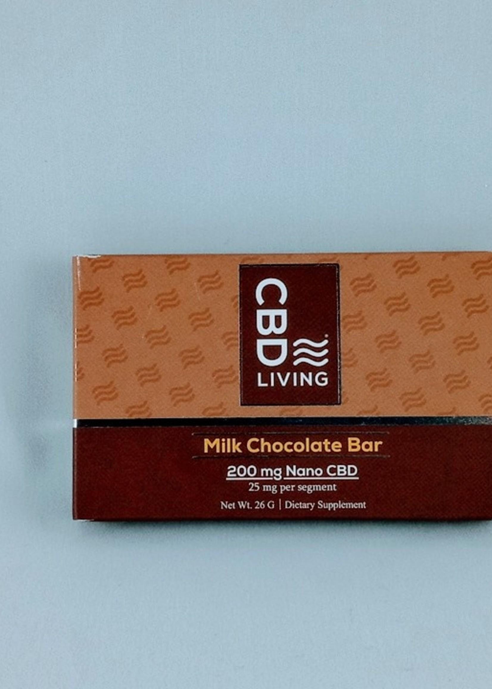 CBD Living CBD Living Milk Chocolate Bar 200mg
