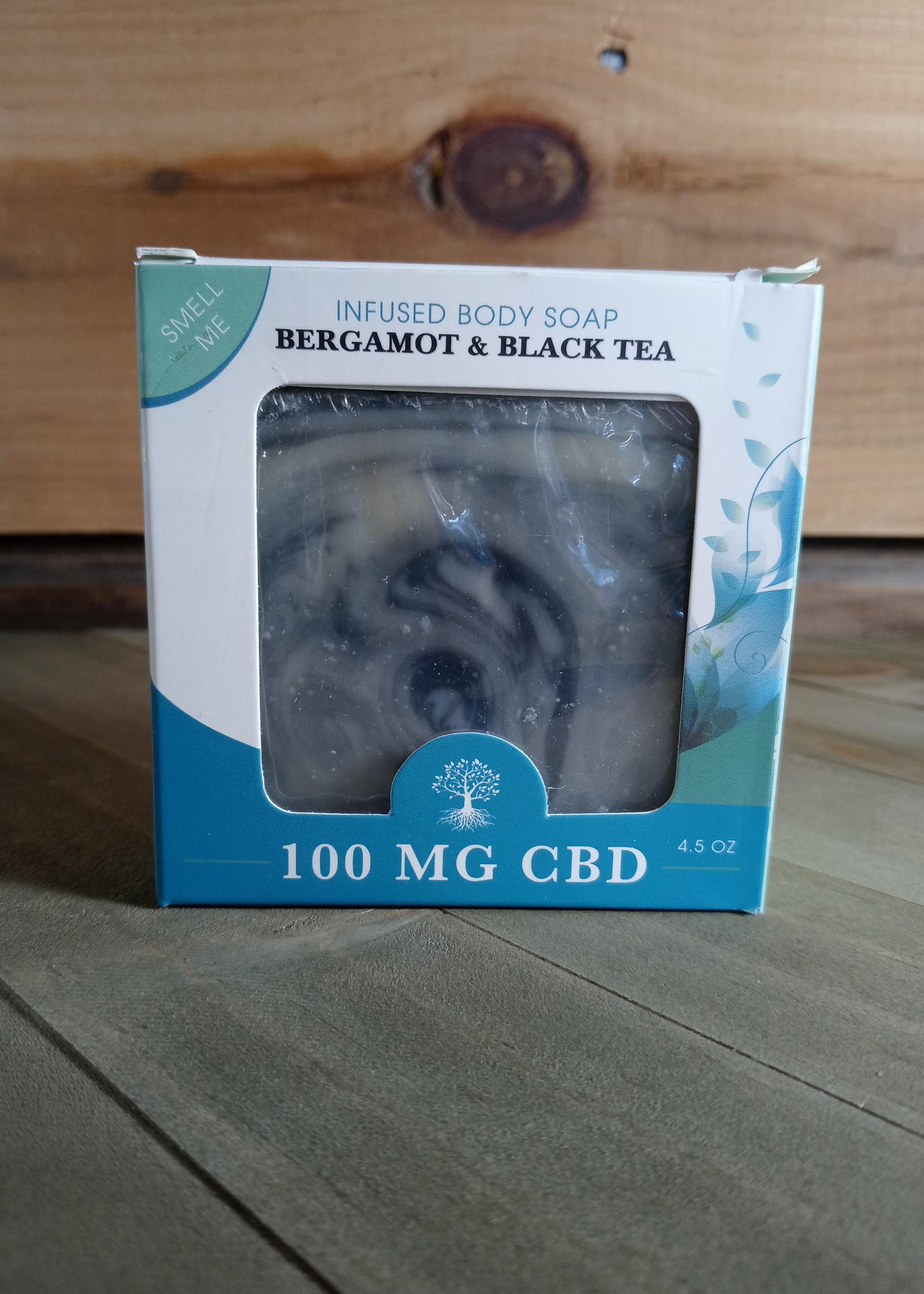 Healthy Roots Hemp Products Healthy Roots Bergamot & Black Tea Soap