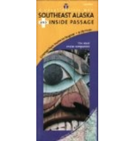 Todd Communications Map - Southeast Alaska's Inside Passage Road & Recreation Map, 3rd Edition - Great Pacific Recreation & Tra