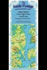 Todd Communications Map - Inside Passage, AK/CAN, SE Alaska/Northern B.C - Fine edge pu