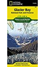 Todd Communications Map - Glacier Bay (Nat. Geo.)