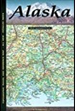 Todd Communications Map - Alaska topographic (Imus) - Imus