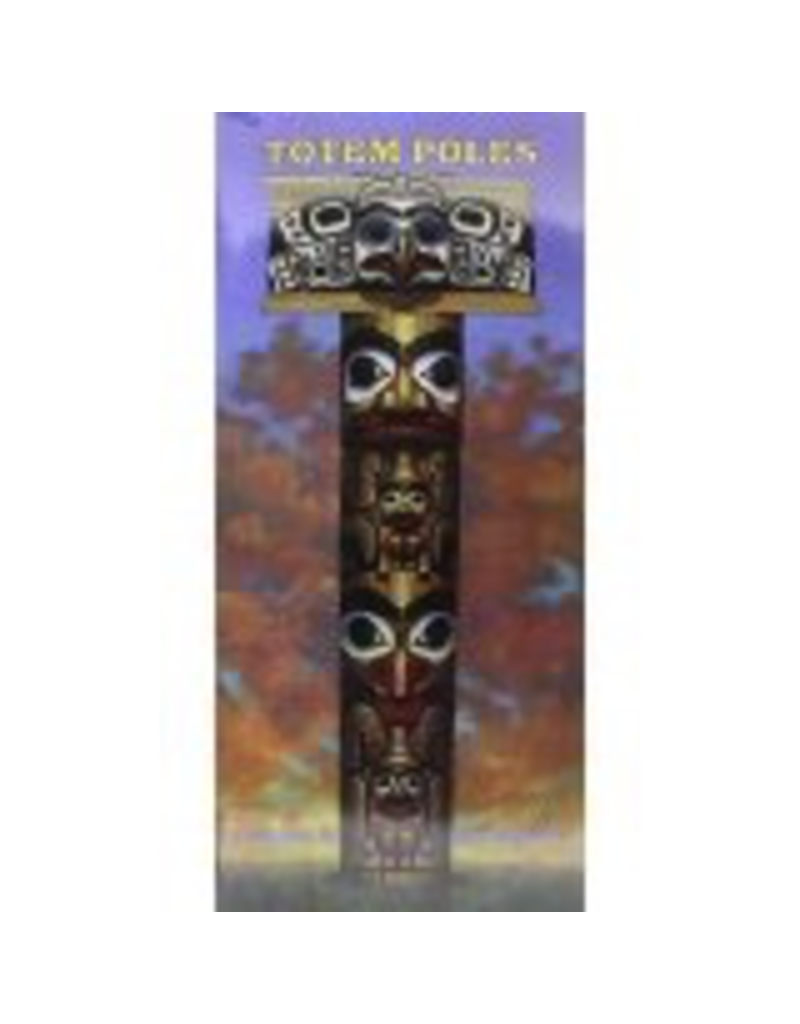 Hancock House Pub. Totem Poles Color/ Cut & Paste book