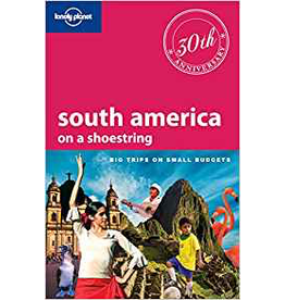 Ingram Lonely Planet South America; on a shoestring