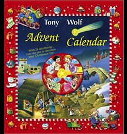 Ingram Advent Cal.w/mini books,Tony Wolf Xmas set - Tony Wolf