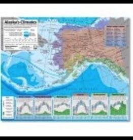Williwaw Publishing Co. Alaska's Climates map; laminated sheet