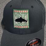 Minipi Minipi Lodges Flexfit Trucker Hat