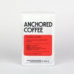 Anchored Coffee. El Zorro Espresso 12oz