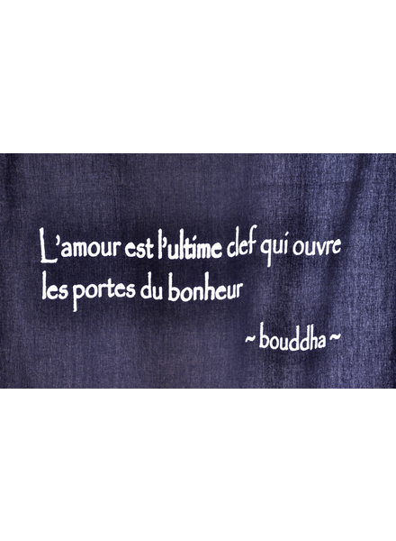 TOILE CITATION CANVAS BUDDHA QUOTE # 24