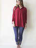 Nomade NOMADE AVENTURE BLOUSE L'AMÉRICAINE ROUGE O/S